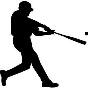 Sport clipart silhouette  sports art Clip silhouettes