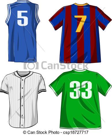Shirt clipart sport clothes Vector Art of Shirts Shirts