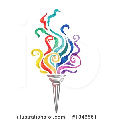 Torch clipart academic (RF) Sample Clipart BNP Design