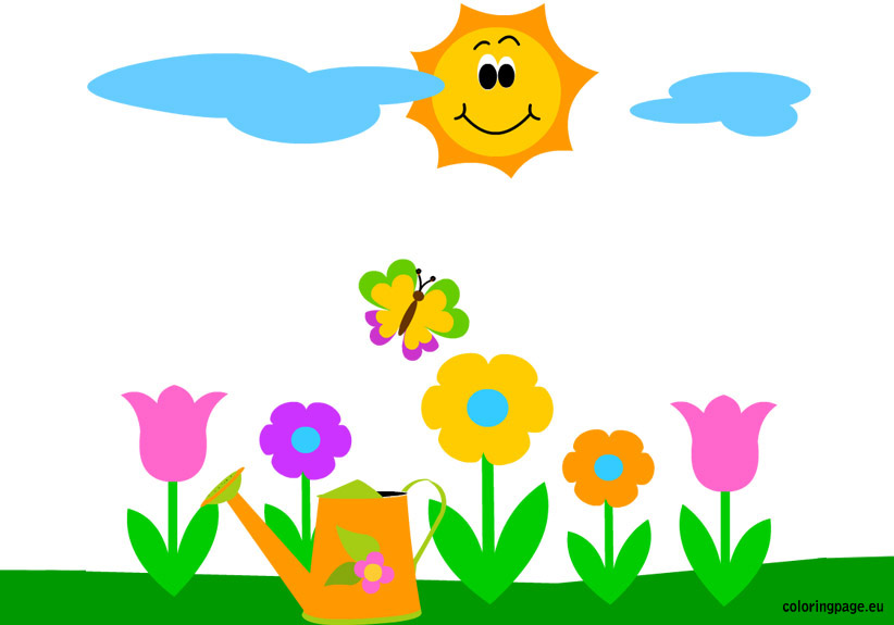 Spring clipart #9
