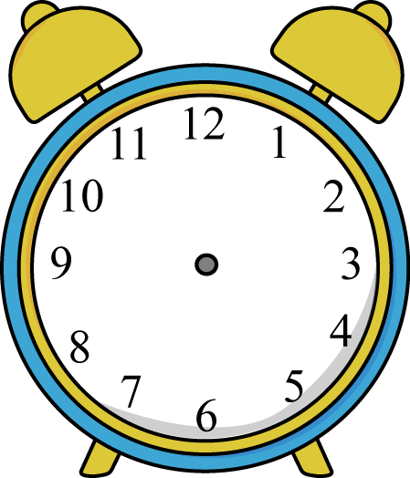 Squares clipart alarm clock More clocks Pin and Red