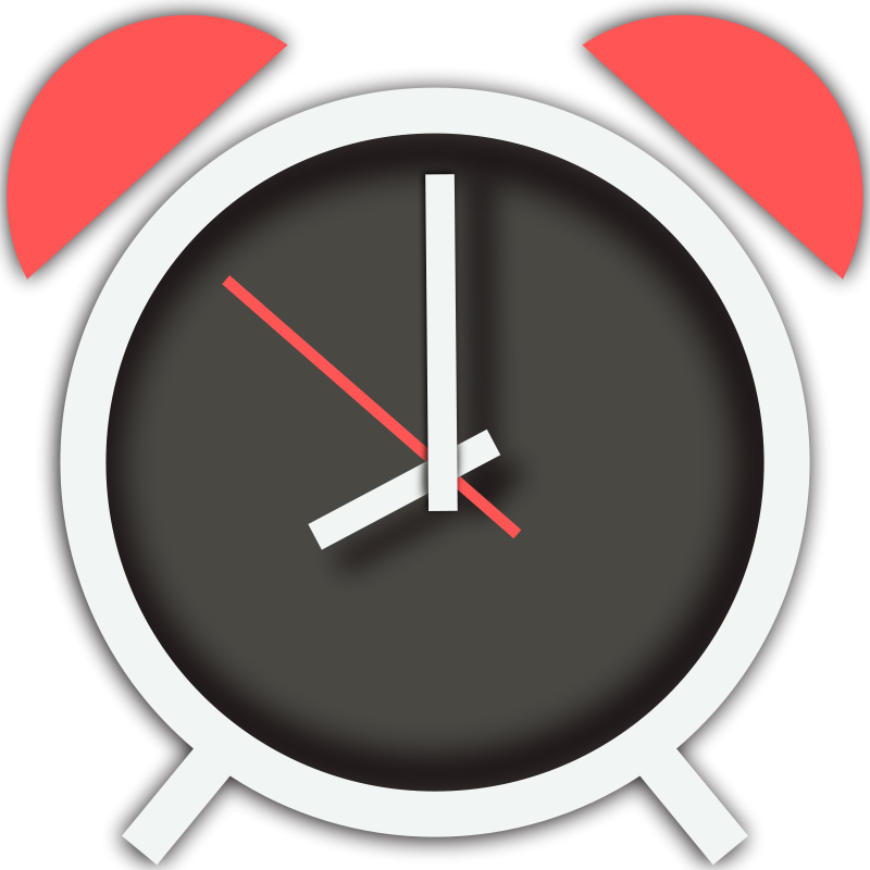 Colouful clipart alarm clock #12