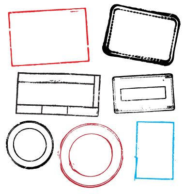 Squares clipart blank stamp Robot ideas VectorStock® on Vector