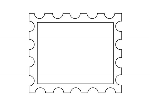 Squares clipart blank stamp Pinterest stamp postage template stamp