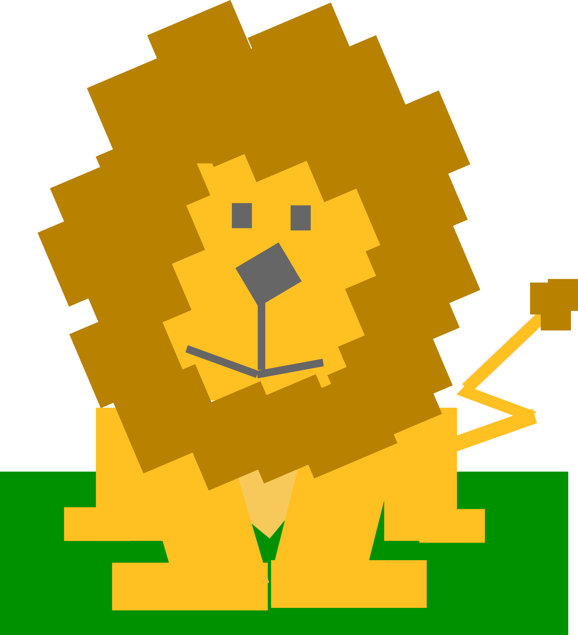 Square clipart cartoon Square Clipart Square animal lion