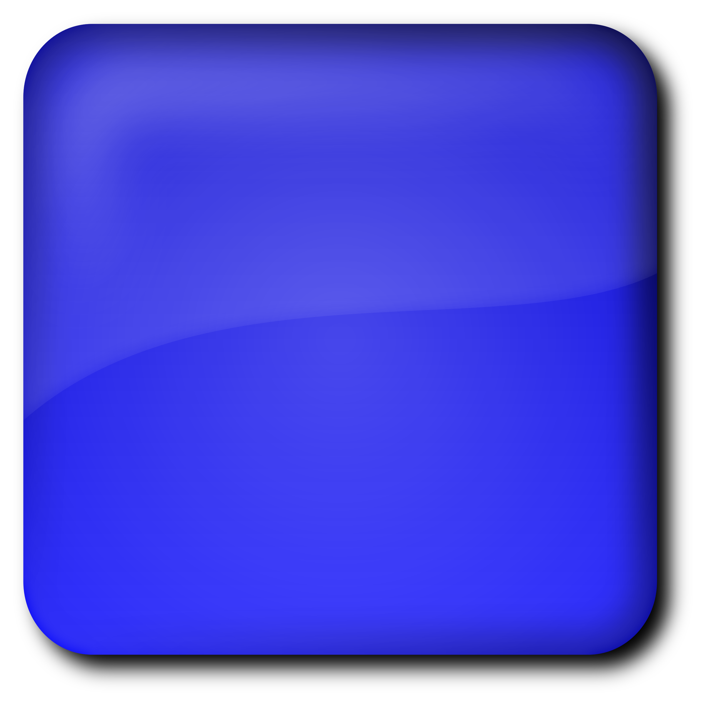 Square clipart colored Colored on clipart Art Blue