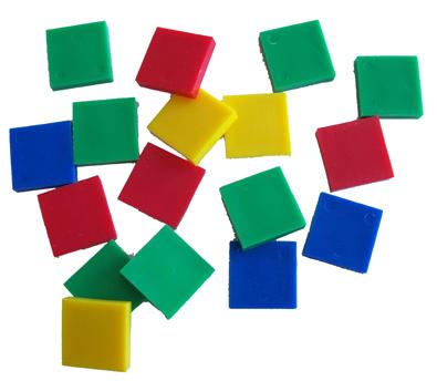 Square clipart colored Square Tiles RYSELTOYS Color Colour