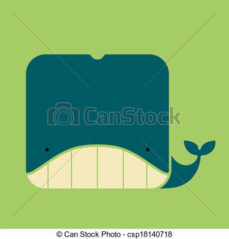 Square clipart cute  bg whale square icon