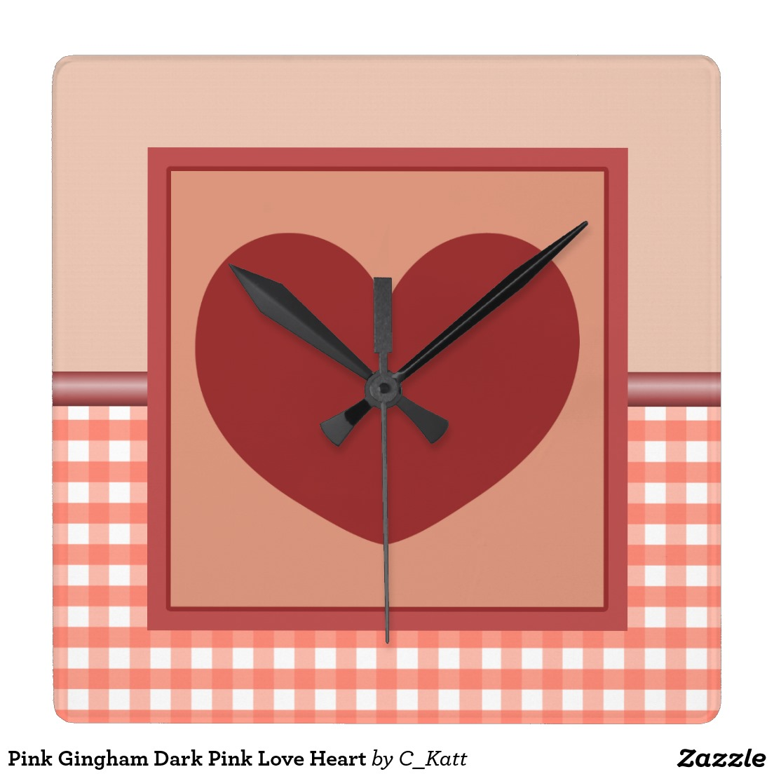 Square clipart dark pink Clock Pink Pink Wall Pink