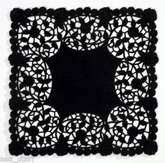 Square clipart doily PCS inch CRAFT 8