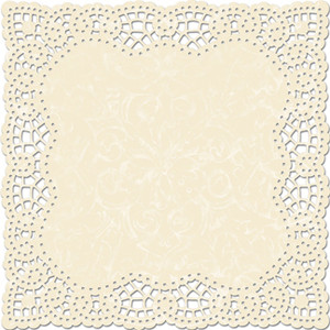 Square clipart doily Scrapbook Doily Die Bloom Laces