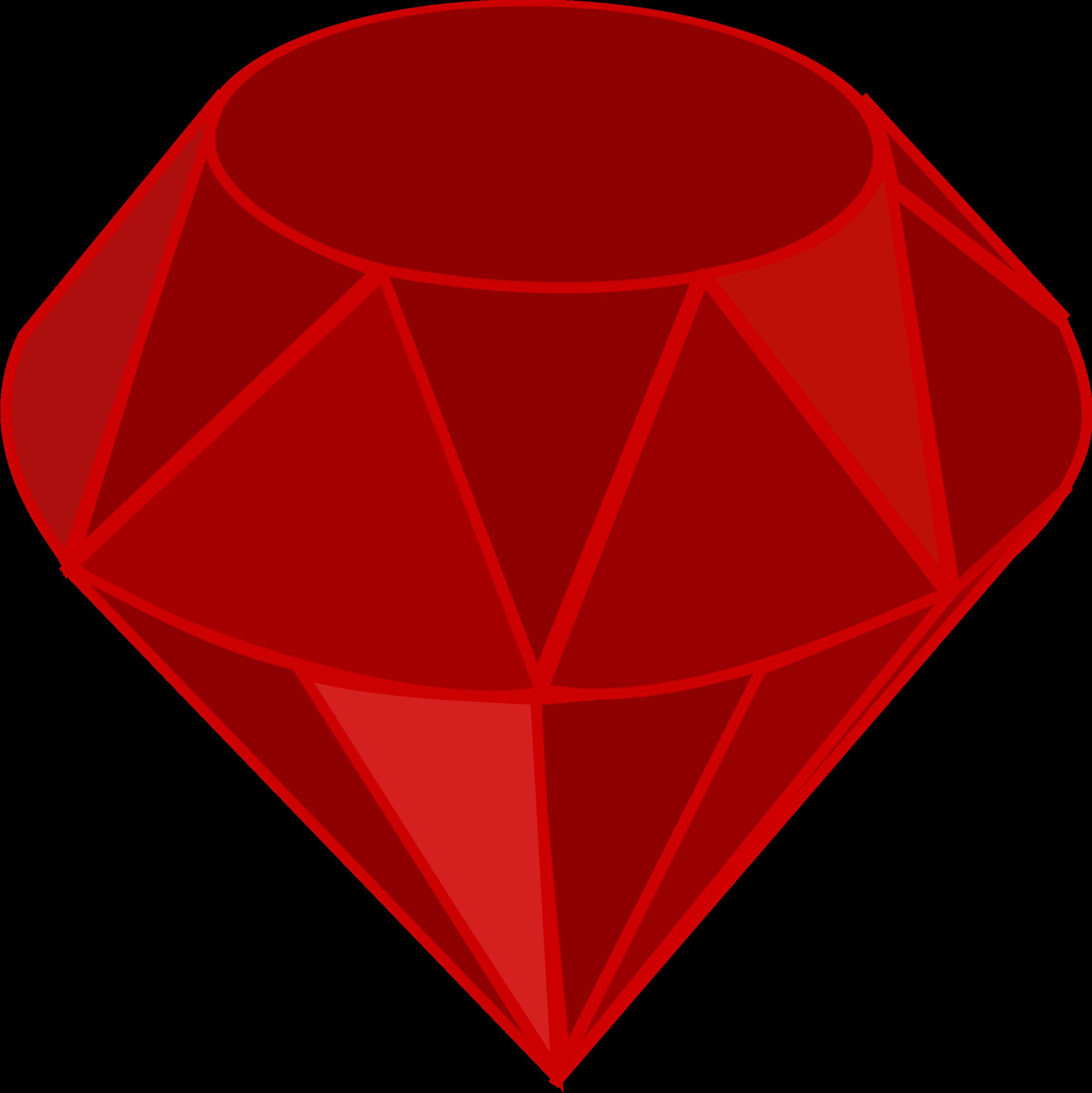 Square clipart gemstone Square no Ruby Clipart area