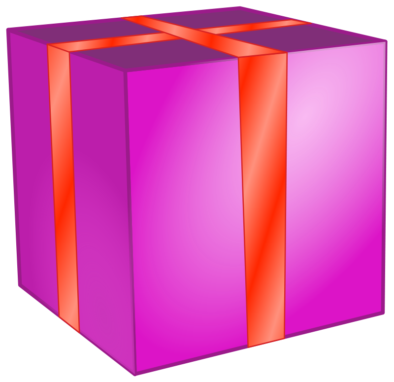 Square clipart gift box Box Clipart Clipart clipart Free