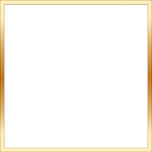 Square clipart gold frame Frame gold square Square Frame