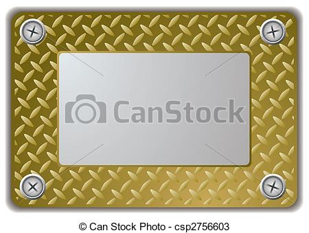 Square clipart mirror frame Of name metal Vectors frame