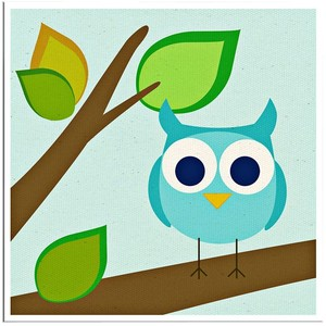 Square clipart owl Ess! Fab and Wall Square
