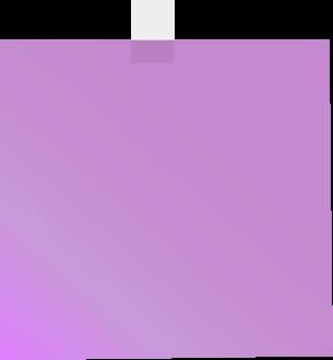 Square clipart purple Sticky Clip Clip Sticky Clip