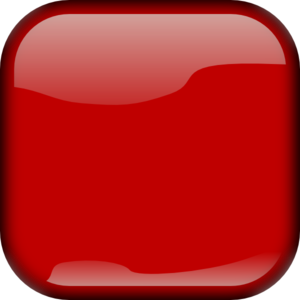 Square clipart red Clker Red Button art Square