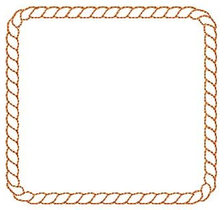 Square clipart rope (Powered Clip on Free Download