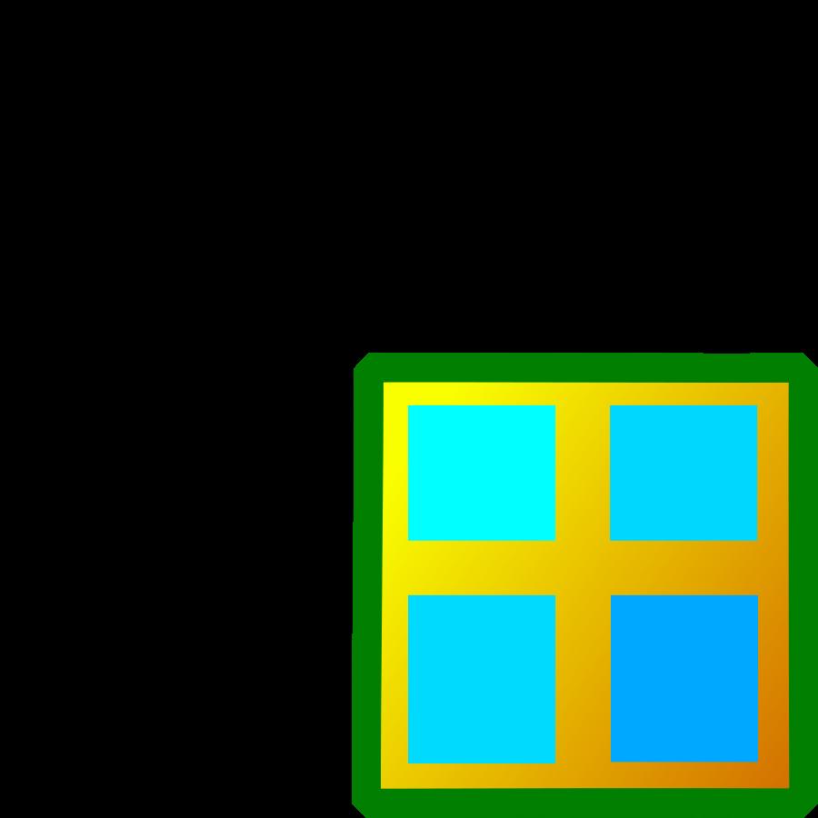 Door clipart square window Square window Window Square Free