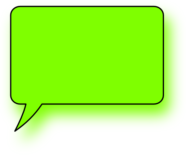 Square clipart speech bubble Lefthand this at vector Clip