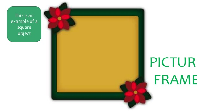 Squares clipart square shaped object This an FRAME Shapes example