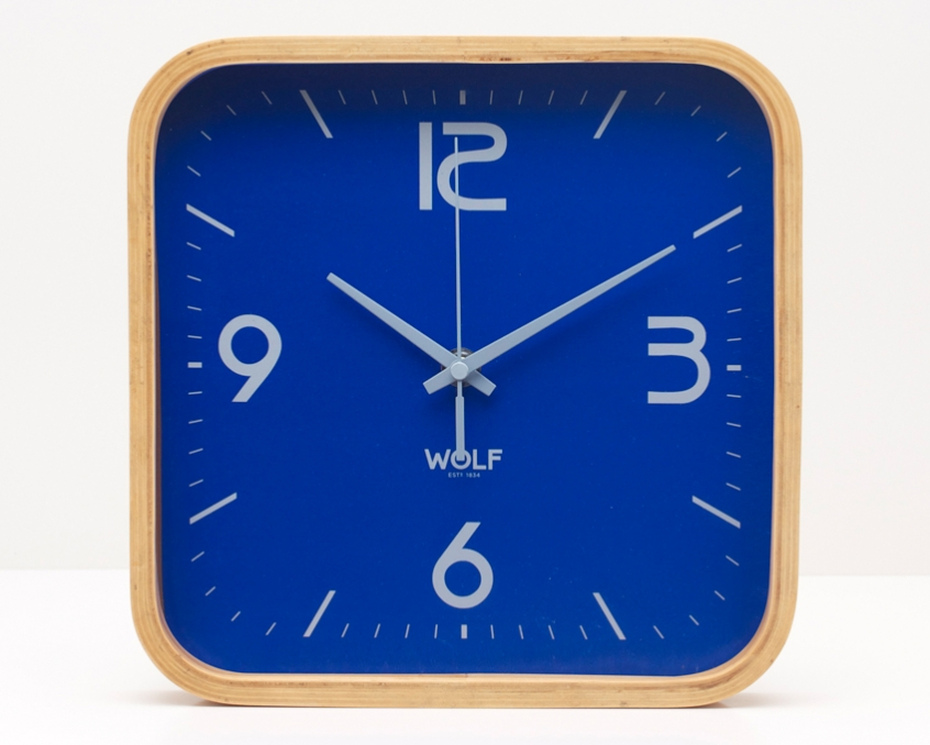 Square clipart square wall clock Clock WOLF Clock 12