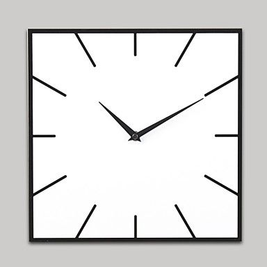 Square clipart square wall clock White Clock A K I