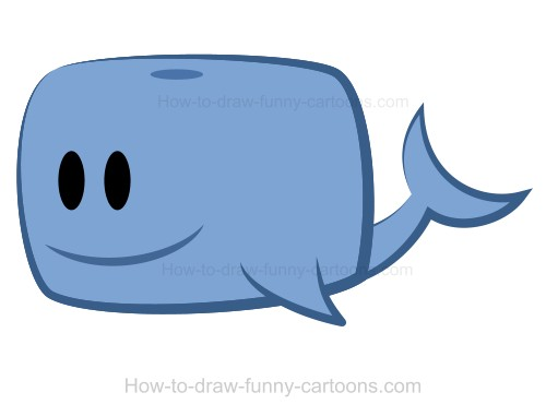 Square clipart whale A whale Drawing whale a