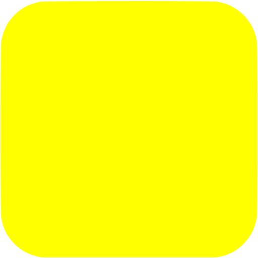 Square clipart yellow Yellow shape app icon square