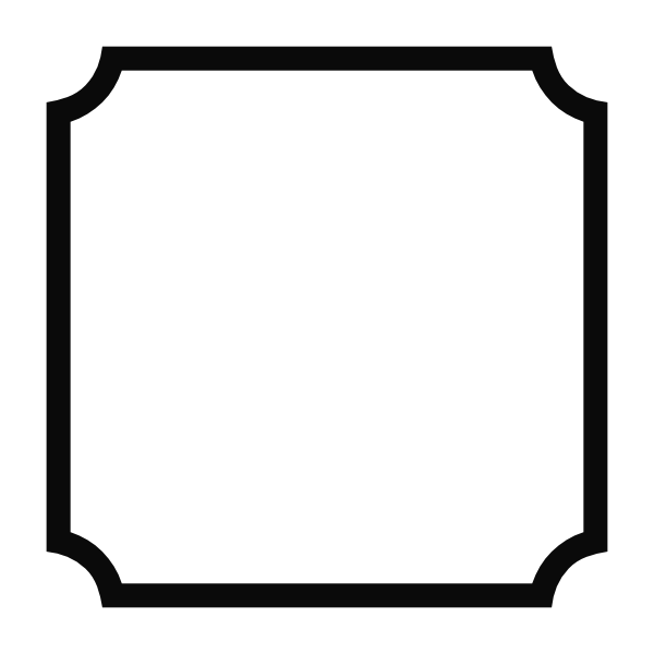 Squares clipart black border Simple frame Pantry labels file