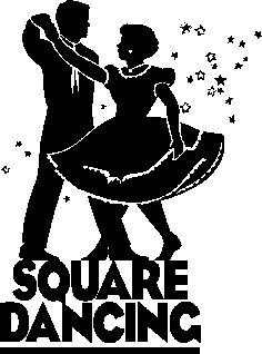 Squares clipart cartoon Squares Dance dancing couple Pinterest