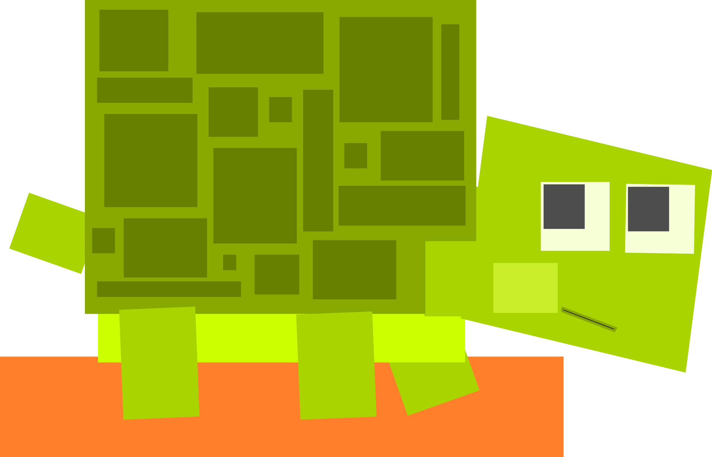 Turtle clipart small #15