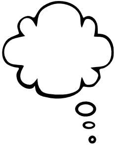 Clouds clipart text Bubble png Gallery /blanks/callouts/bold_callout/text_bubble_cloud_tall_left Png