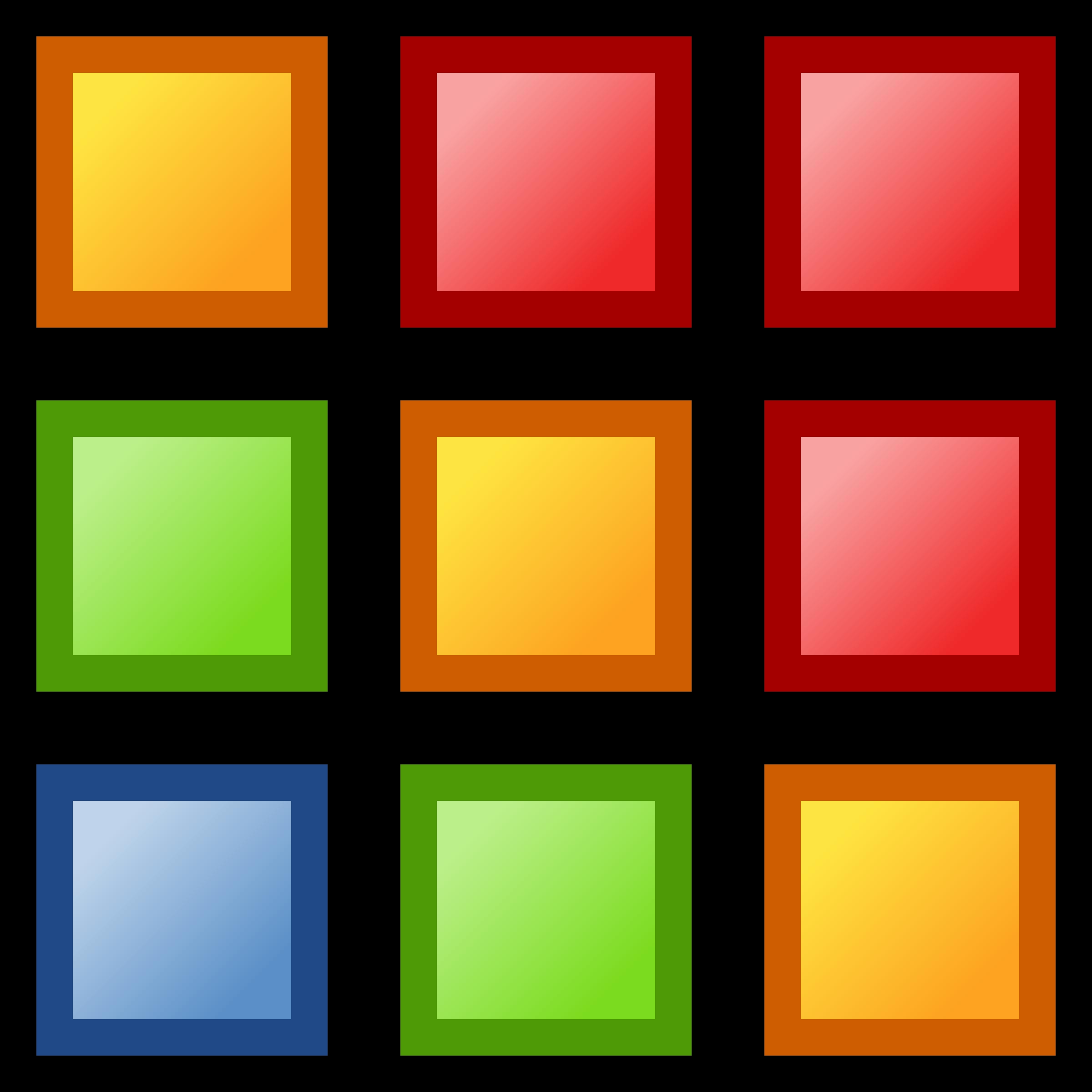 Squares clipart colored Icon colors colors icon Clipart
