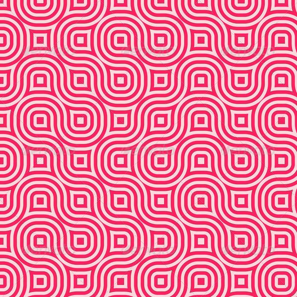 Squares clipart dark pink Different Retro in in squares