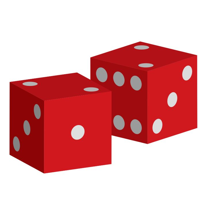 Dice clipart card game Red clip by images Two