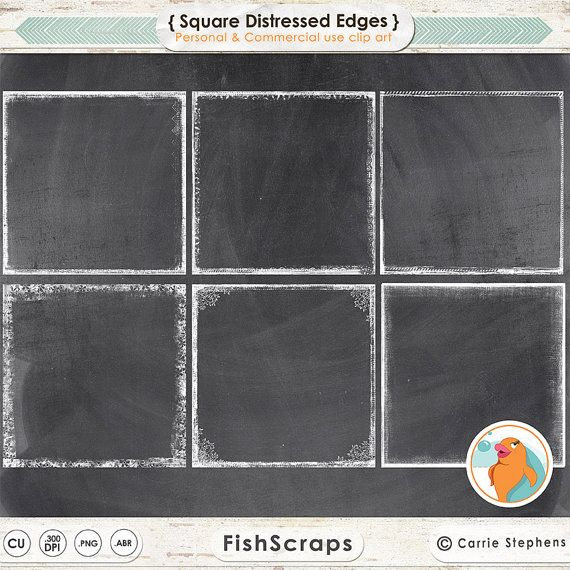 Squares clipart distressed Grunge Clipping best Digital 255