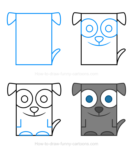 Squares clipart funny Dog How Dog a to