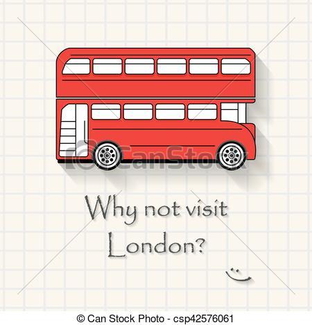 Squares clipart funny Inscription London Vector funny London