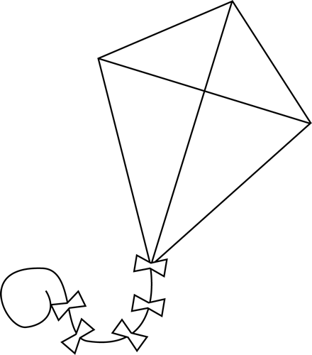 Squares clipart kite #15