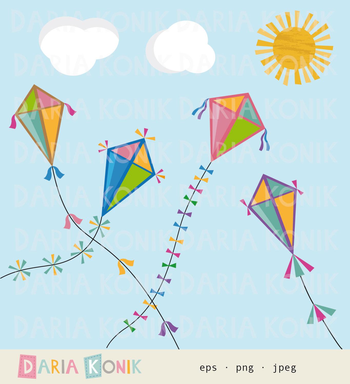 Squares clipart kite #9