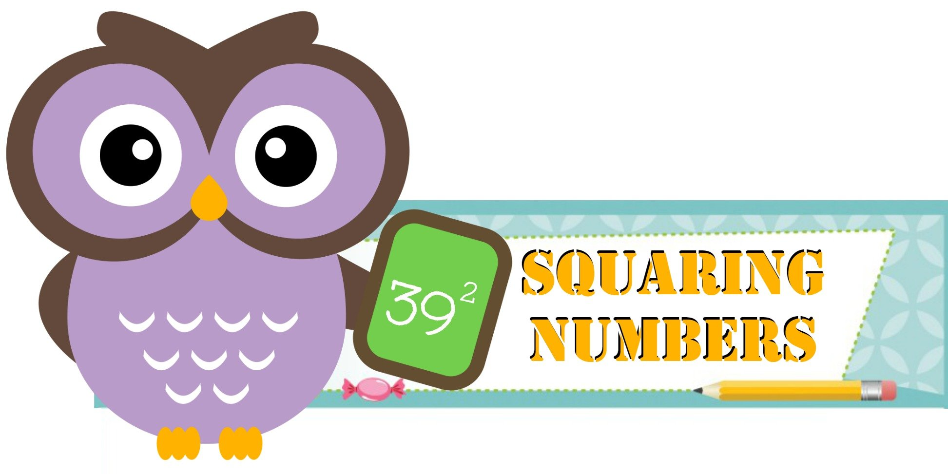 Squares clipart owl Numbers to of Squaring Square