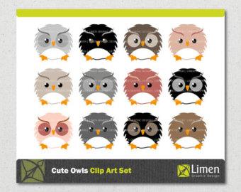 Squares clipart owl Clip Owl Art Art Clip