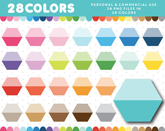 Squares clipart polygon Clipart Ombre Etsy Polygon clipart