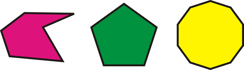 Squares clipart polygon Number polygons convex CK it