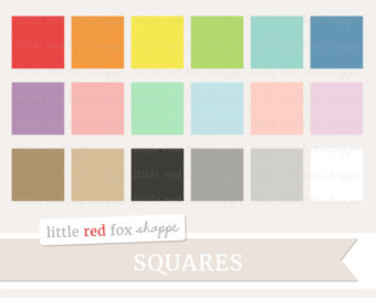 Squares clipart small 100 Banner Use Label Shape