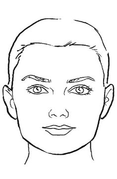Squares clipart square face What What to Guide Hair