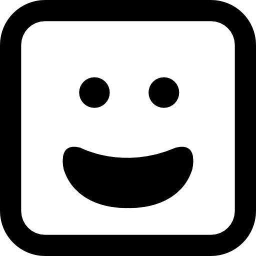 Squares clipart square face Emoticons PNG  Emoticon emoticons