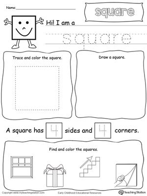 Squares clipart square shaped object All Square on Pinterest Shapes